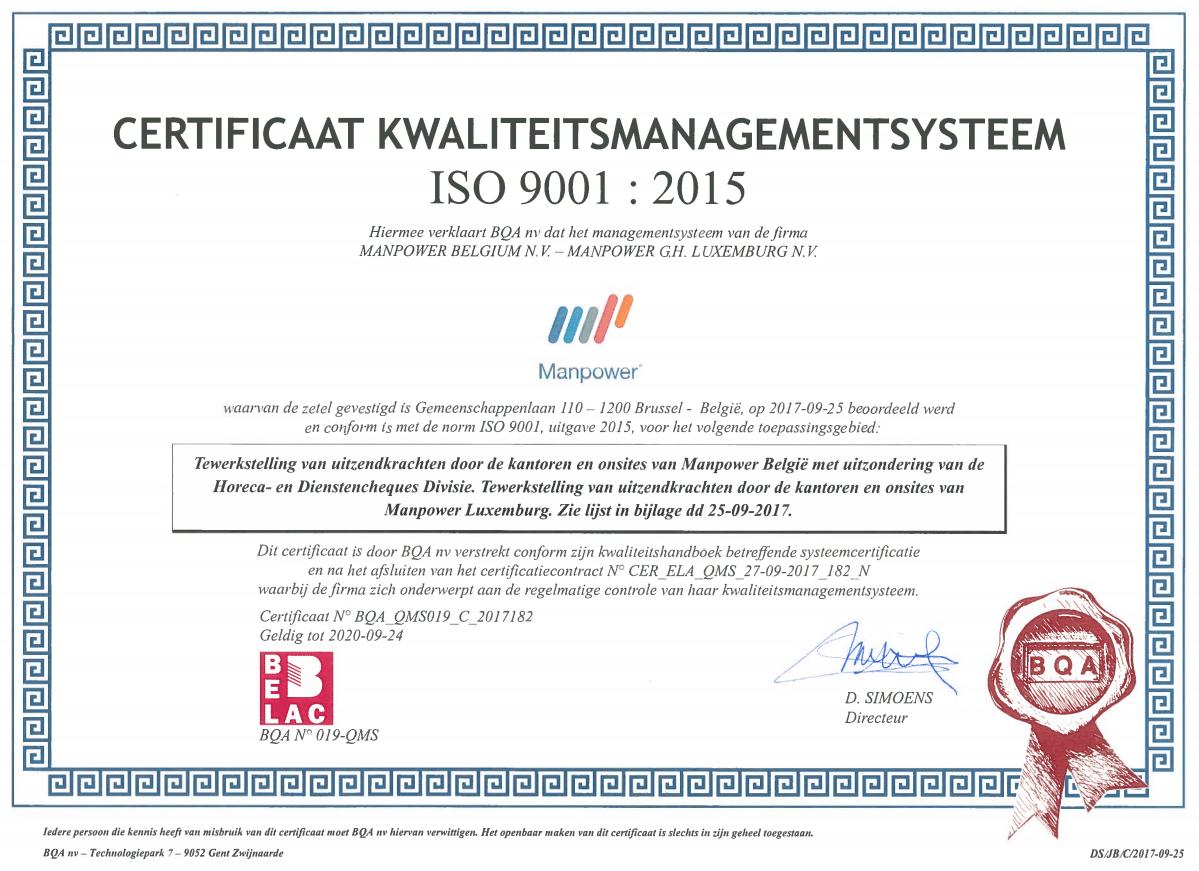 certificat management-nl
